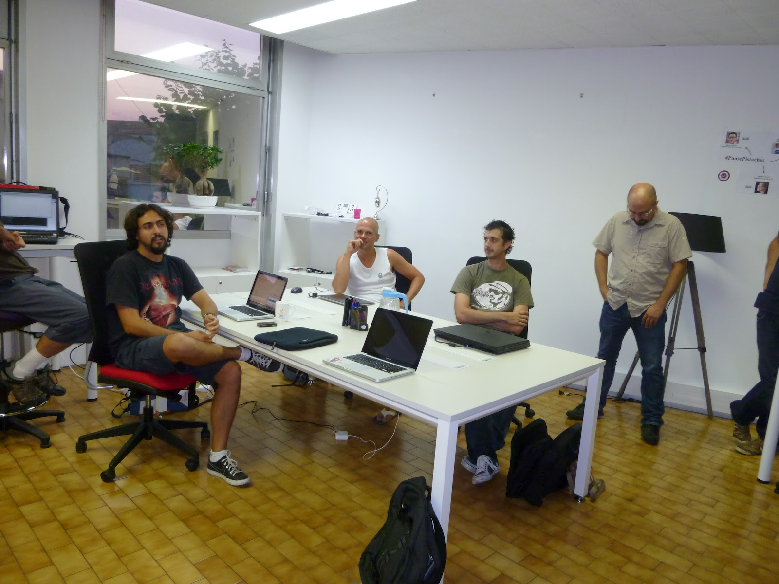 chat & code: August 2012