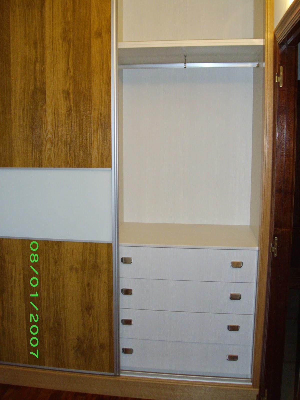 El gramil armarios empotrados empotrado puertas for Puertas japonesas