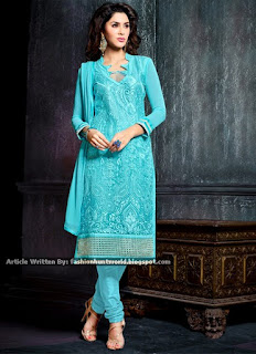 Indian And Pakistani Embroidered Salwar Kameez Dresses