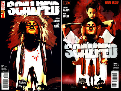 Scalped first and last covers