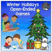https://www.teacherspayteachers.com/Product/Winter-Holidays-Open-Ended-Games-2221095