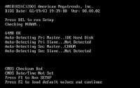 BIOS-CMOS-Checksum-Bad