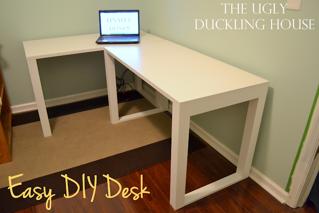 easy diy office desk