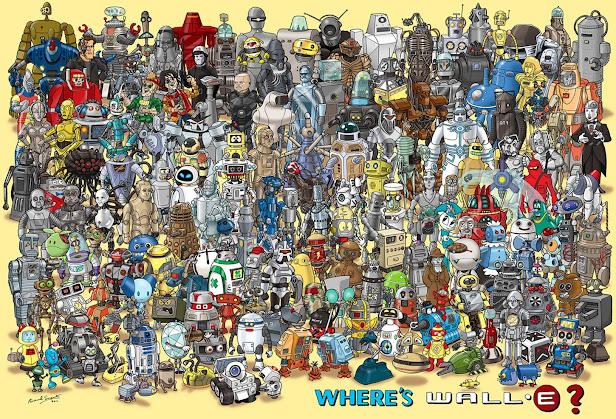 Wheres Wall-e - Donde esta Wall-e