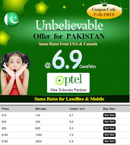Cheap calling to Pakistan