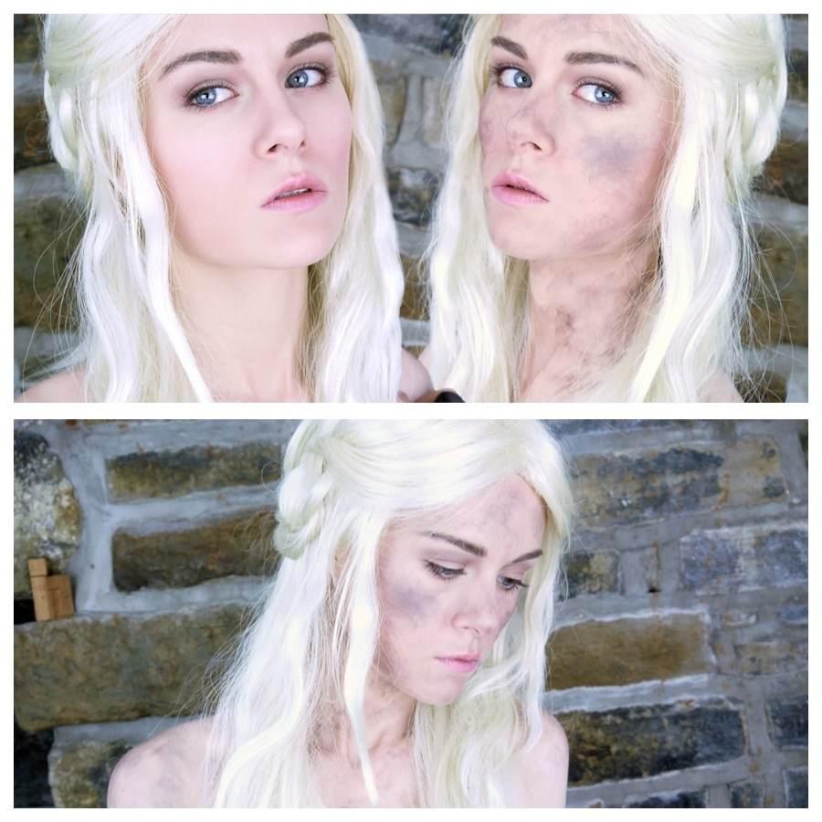 Emma pickles daenerys targaryen khaleesi makeup tutorial daenerys targaryen khaleesi makeup tutorial baditri Images
