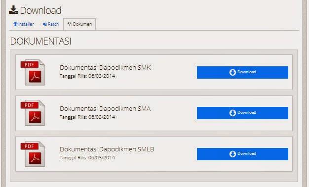 Manual Aplikasi Dapodikmen (SMK)