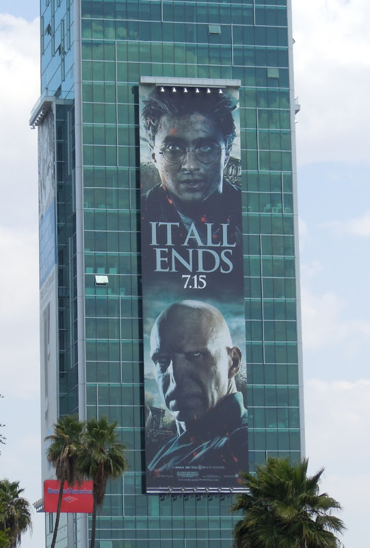 Harry Potter Voldemort It All Ends billboard