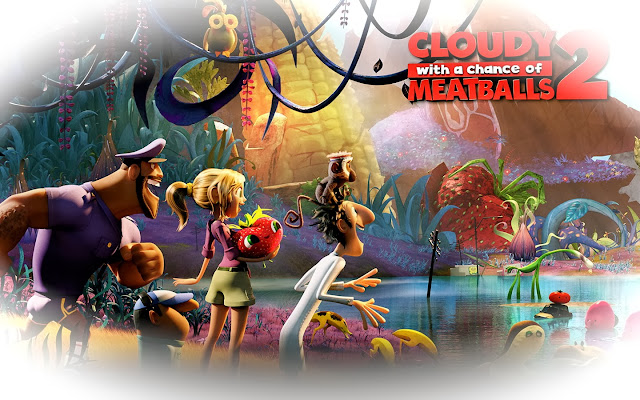 cult film freak: CLOUDY WITH A CHANCE OF MEATBALLS 2 Cloudy With A Chance Of Meatballs 2 Characters Names