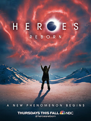 San Diego Comic-Con 2015 First Look Heroes Reborn Teaser Television Poster