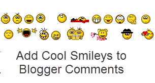 emoticons in blogger, kolobok smileys, threaded comments
