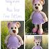 Amigurumi Bayan Ayı Yapılışı-Amigurumi Miss Bear Free Pattern