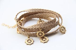 etsy blog, handmade jewelry, the urban lady, leather wrap bracelet, etsy.com