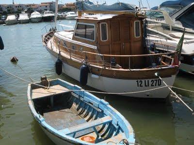 Castiglione della Pescaia fishing boats