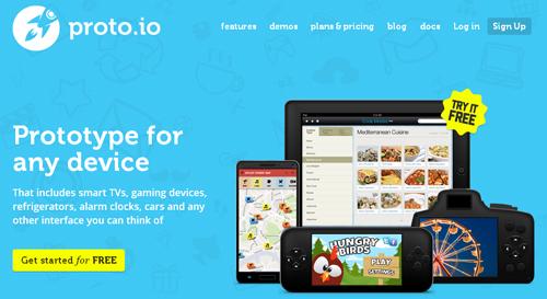 crea aplicaciones gratis con Proto.io - www.dominioblogger.com