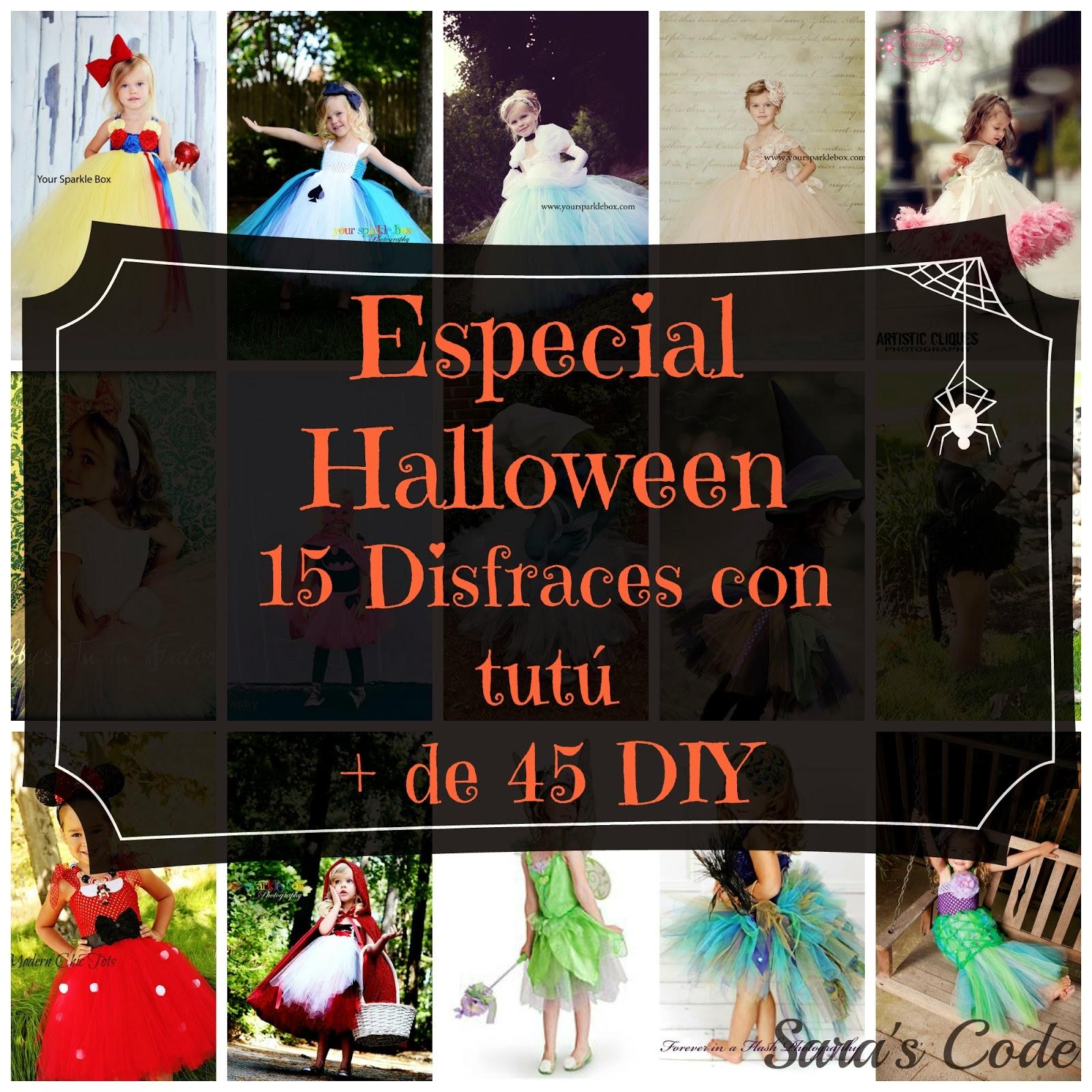 Especial Halloween: 15 disfraces con tutú