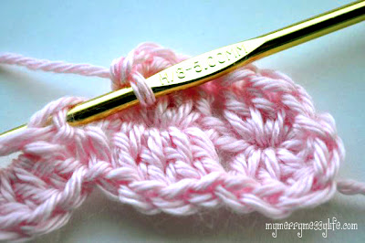 Photo Tutorial for the Crochet Shell Headband