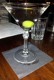 A perfect dry Martini at Hawksmoor Air Street