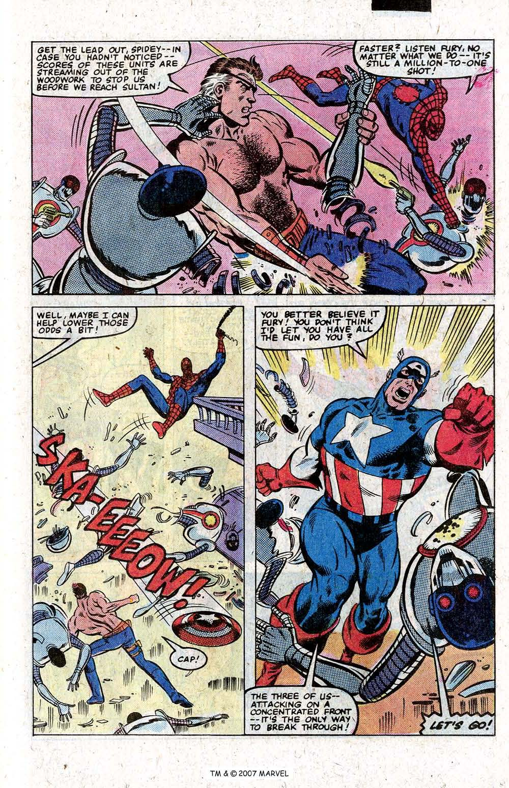 Captain America (1968) Issue #265 #180 - English 25