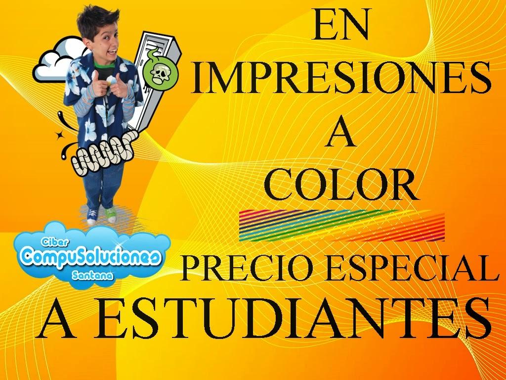 CompuSoluciones Santana: IMPRESIONES A COLOR PRECIO ESPECIAL A ...