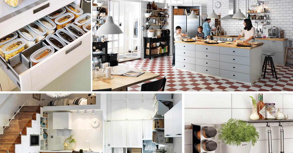 Diariodeco 7 ideas para poner en orden la cocina - Orden en la cocina ...