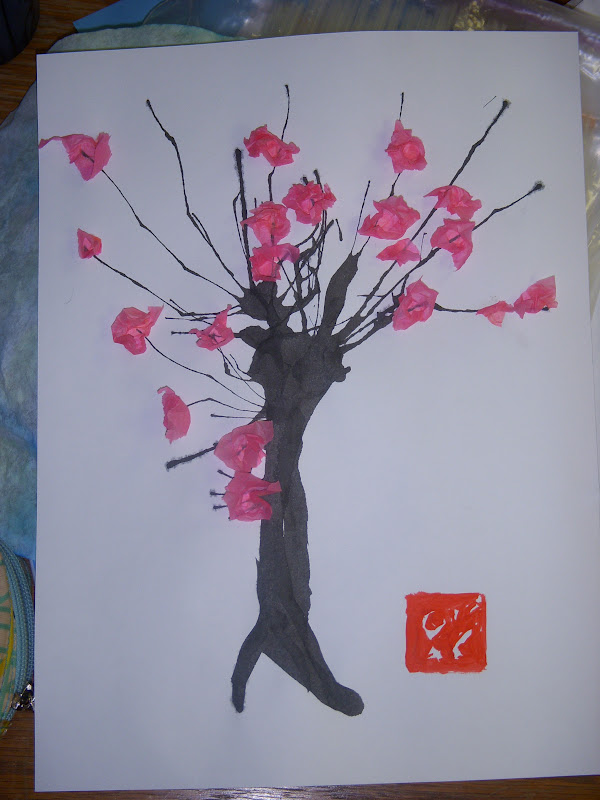 Miss oetken s artists japanese sakura cherry blossom trees
