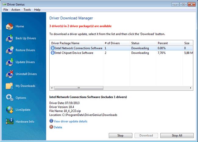 Driver Genius Professional 14.0.0.323 full version download