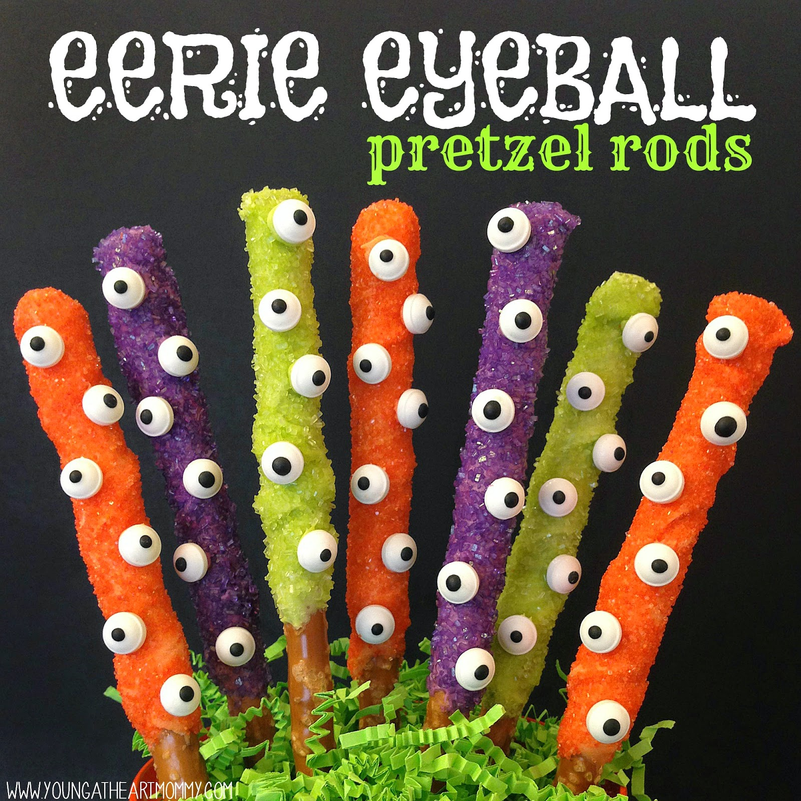 how to make decorated pretzel rods