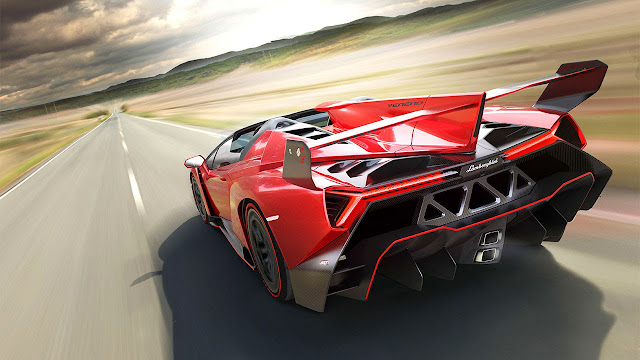 Lamborghini Veneno Roadster rear