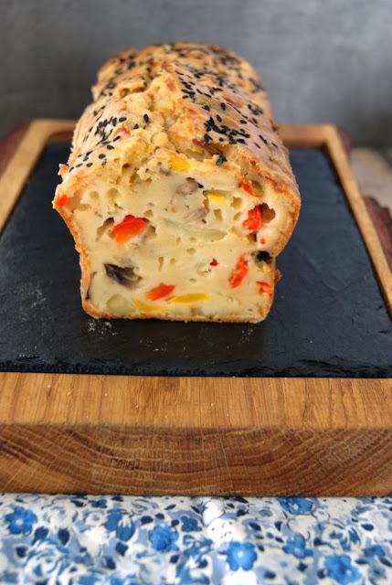 wytrawne ciasto, ciasto z warzywami, co zrobic na przyjęcie, jedzenie na impreze