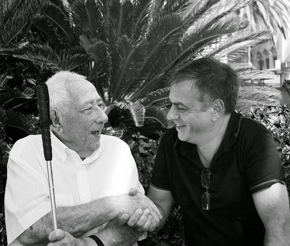 Manuel y Juan Carlos (usuario y voluntario)
