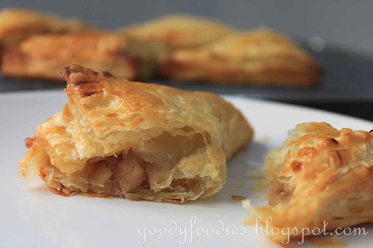 Recipe: Spiced apple and apricot turnovers
