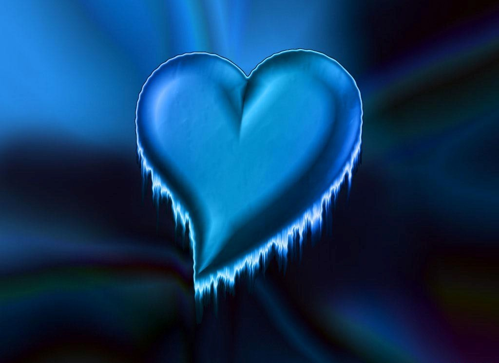 wallpaper blue heart. wallpaper love heart.