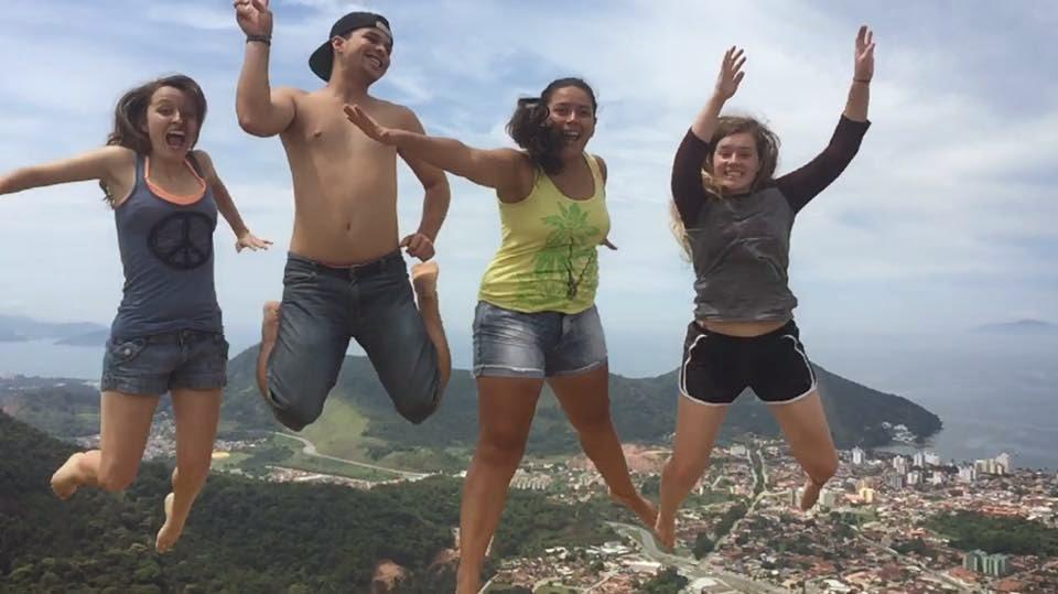 Beth in Brazil