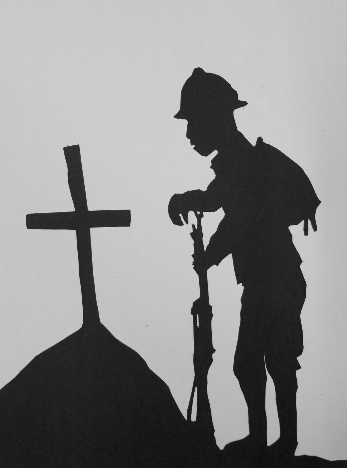 art mash remembrance day silhouettes