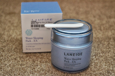 Korean/Asian skincare haul review brands laneige water sleeping pack