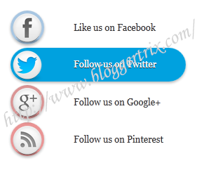 attractive+social+sharing+widget+for+blogger
