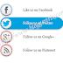 Attractive Social Sharing Widget For Blogger