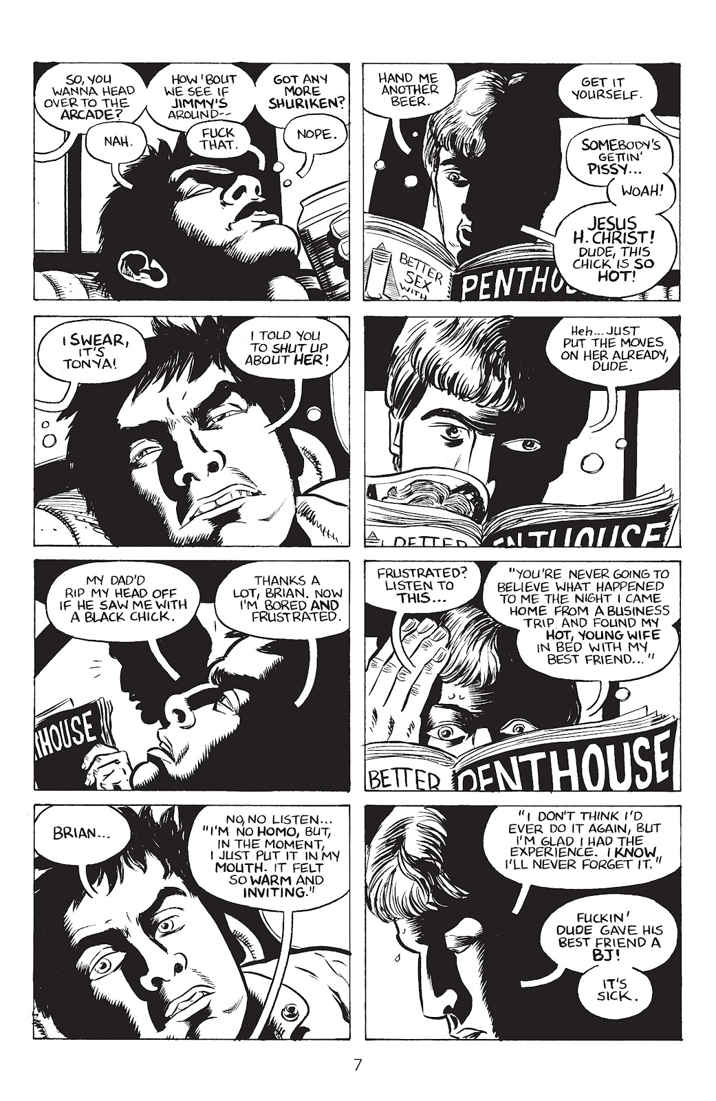 Stray Bullets Issue #34 #34 - English 9
