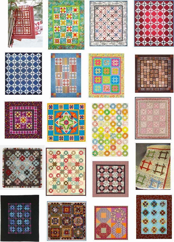 Quilt Pattern Names List : Quilt Inspiration: Free pattern day! Shoo Fly and Churn Dash quilts