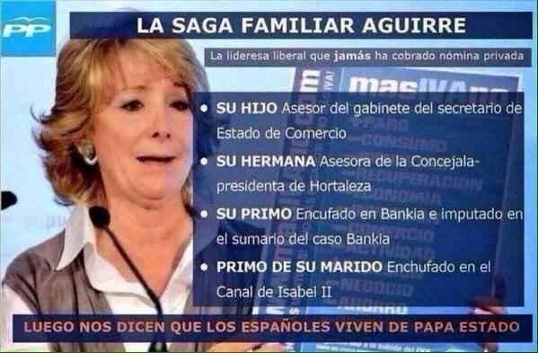 La liberal Esperanza Aguirre