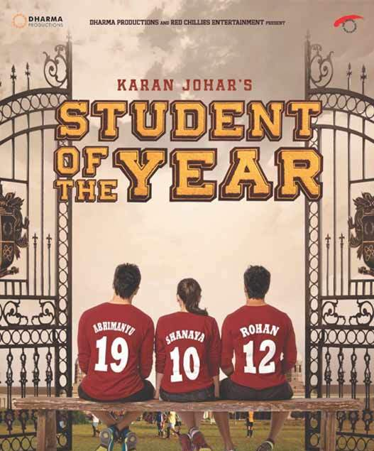 The movie wallpaper of student of the year