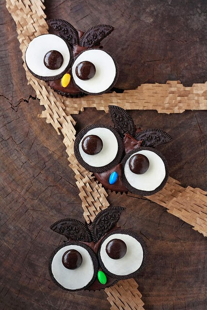 owl oreo cupcakes, how to bake, oreo baking, baking for, halloween ideas, halloween food ideas