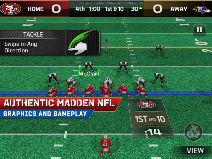 Madden NFL 25 by EA SPORTS App iTunes App By Electronic Arts - FreeApps.ws