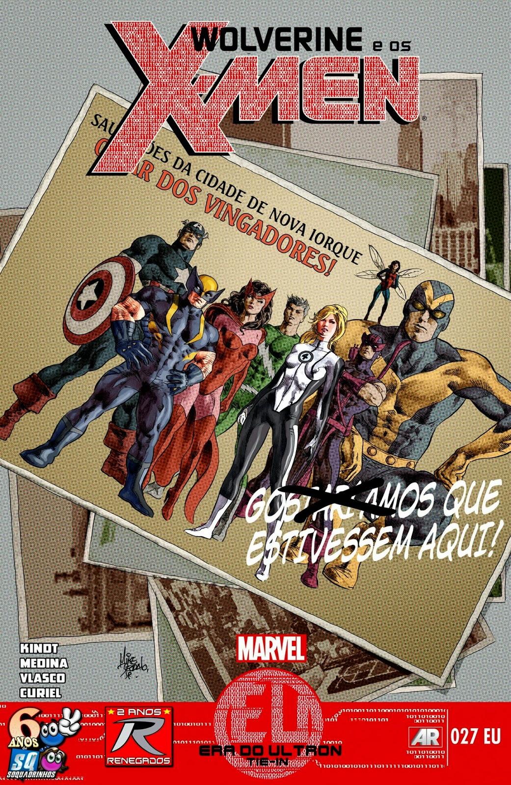 Nova Marvel! Wolverine e os X-Men #27 EU