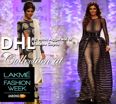 DHL Presents Opening Show By Amir Aggarwal & Masaba Gupta At Lakme Fashion Week 2014-2015