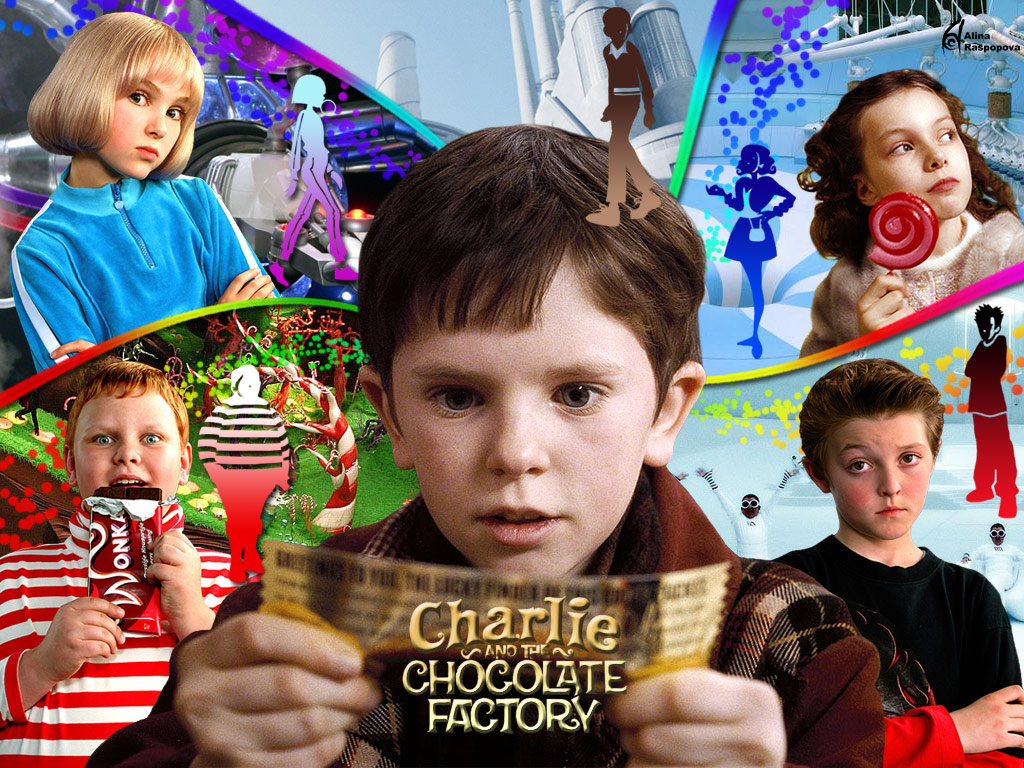 charlie and the choclate factory The storyline follows charlie, who takes a tour he has won with 4 other kids, led by wonka, through the most magnificent chocolate factory in the world.