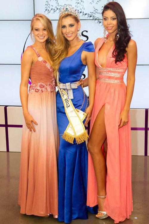 Camila Serakides,Karine Barros,Miss Mundo Brazil 2012 Semifinalists