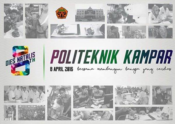 Dies natalis Politeknik Kampar ke-8