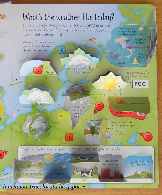 See Inside Weather and Climate editura Usborne